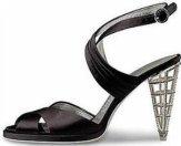 Florence Museums - the Ferragamo Museum - the cage heel shoe