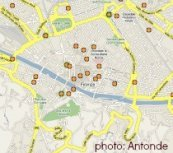 Maps of Florence Italy
