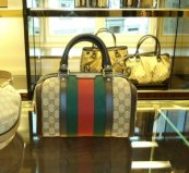 the Gucci store - one of Florence's most famous designers