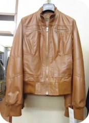 Florence Shopping - Florence Leather School - brown jacket