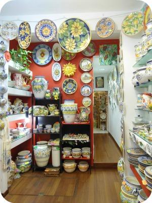 Florence and Deruta Ceramics - Le Mie Ceramiche shop