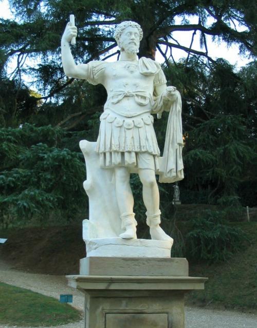 Statue of Roman man at Boboli