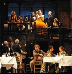 Scene from la Boheme from guardian.co.uk