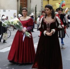 March 25 is the Festa dell'Annunciazione in Florence
