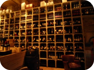 Florence Restaurants - Enoteca - wines