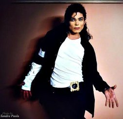 Michael Jackson as impersonated by Sergio Cortes