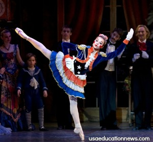A popular favorite during the holidays is the Nutcracker ballet