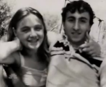 Pia Rontini and Claudio Stefanacci, 2 of the maniac's young victims