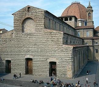 Basilica of San Lorenzo where the festivities take place