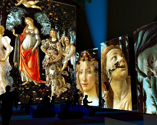 The multimedia display Incredible Florence brings history to life!