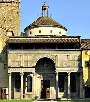 The Pazzi chapel by Brunelleschi