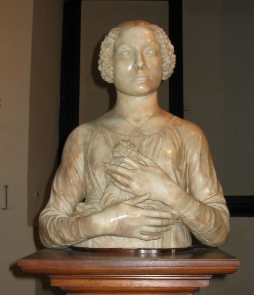 Dama by Verrocchio at the Bargello