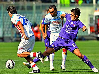 Calcio - the Italian word for soccer (or football in the UK) is the country's most popular sport