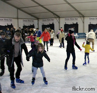 the Florence Winter Park offers skating, skiing and snowboarding
