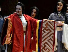 Scene from Madama Butterfly by Giacomo Puccini
