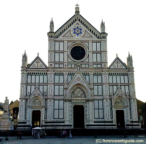 Facade of Santa Croce church