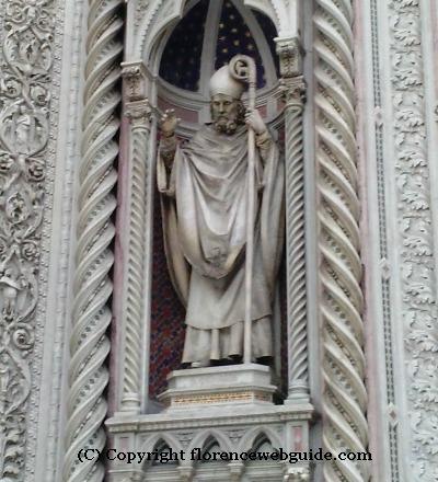 Statue of San Zanobi