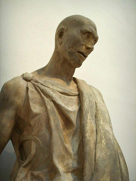 Habakkuk, the prophet, by Donatello