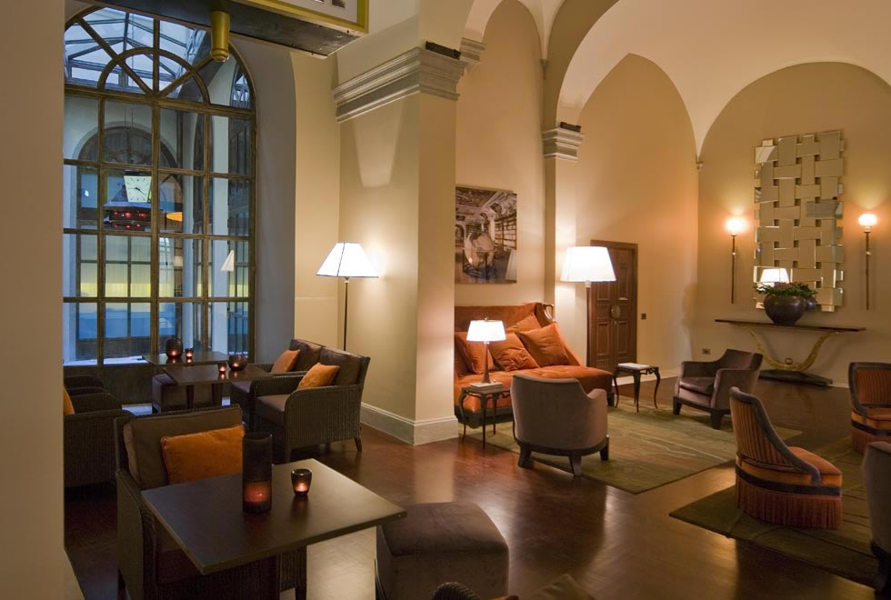 The type of luxury hotel you can find in Florence when booking a package deal