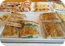 Florence Restaurants - Gluten Free Pizza - Starbene pizzas in bakery