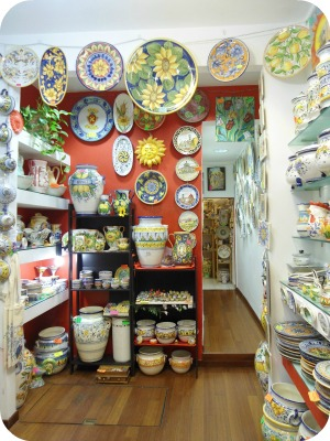 Florence and Deruta Ceramics - Le Mie Ceramiche shop