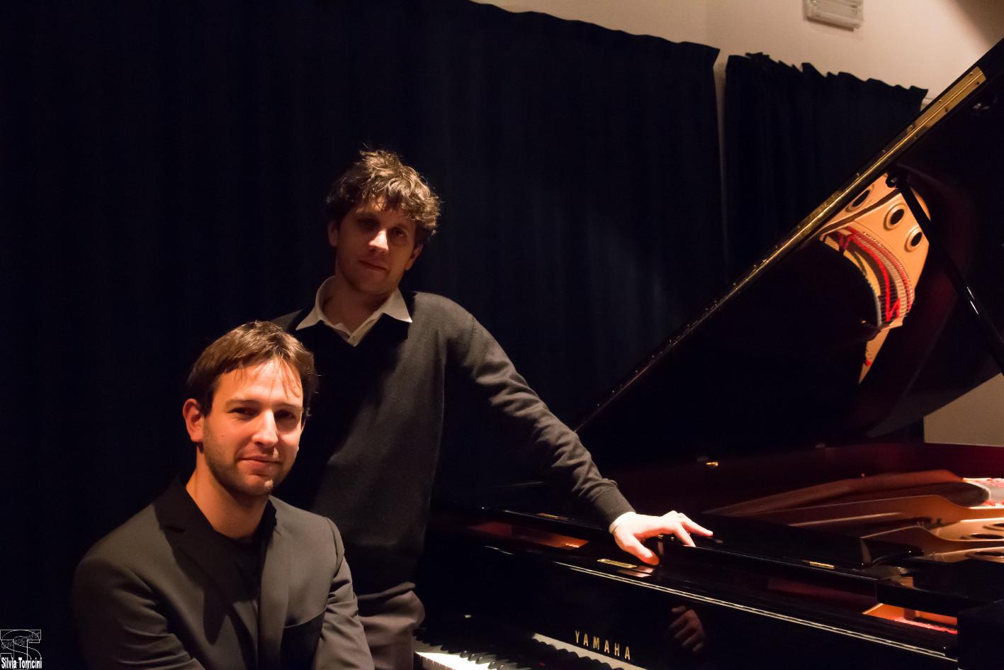 Musicians Giovanni Nesi and Gregorio Moppi