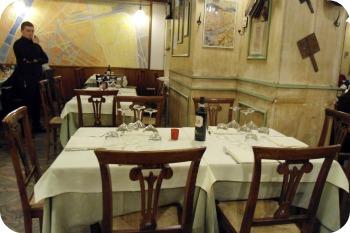 Il Portale dining area