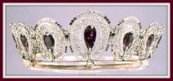 Silver Museum - diamond tiara