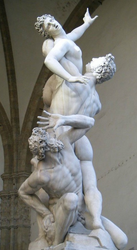 Rape of Sabines by Giambologna