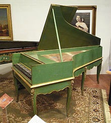Early version of a piano