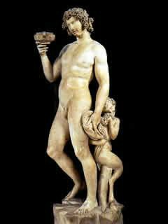 One of Michelangelo's earliest works, il Bacco