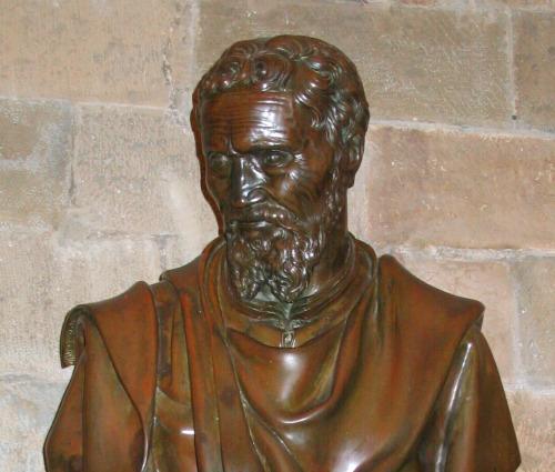 Bust of Michelangelo Buonarroti