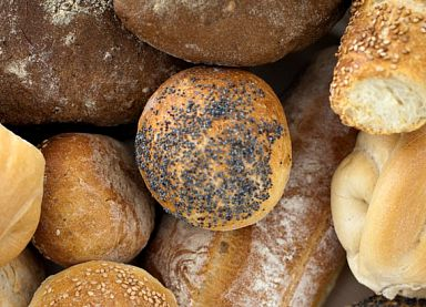 An assortment of Tuscan breads