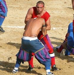 Calcio in costume in Santa Croce Florence