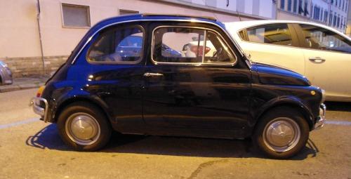 Vintage Fiat 500 - a famous Italian car