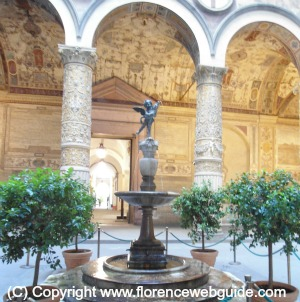 Courtyard of Palazzo Vecchio