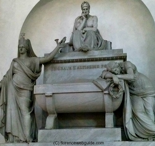 Not a tomb, but a memorial to Dante Alighieri