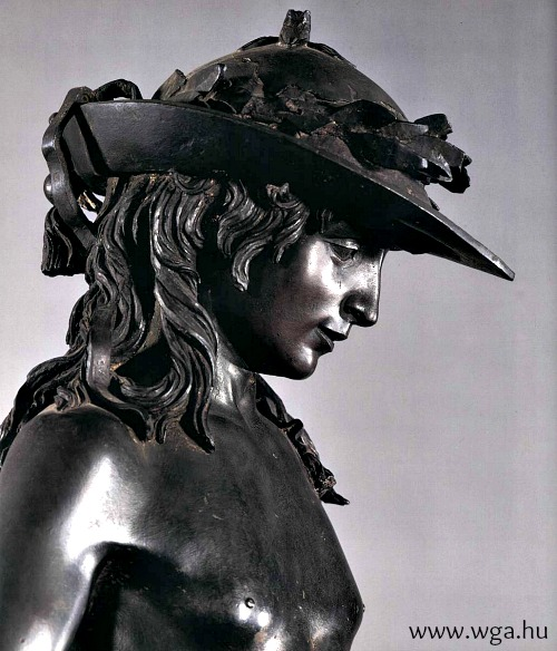 Donatello's masterpiece, David in bronze, originally 'lived' at the Medici palace