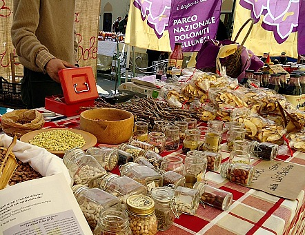 The Fierucola is an artisan and organic food market in Florence