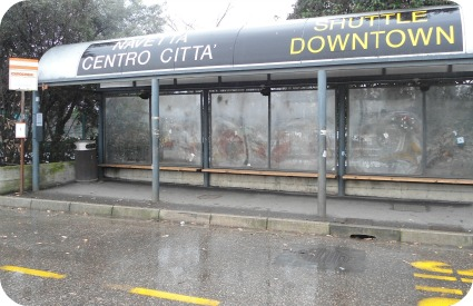 Florence airport shuttle service bus stop