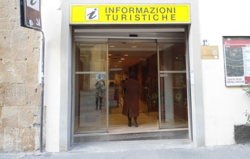 Tourist information office in via Cavour Florence Italy