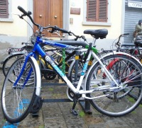 Bike rentals and tours of the city, Florence Italy