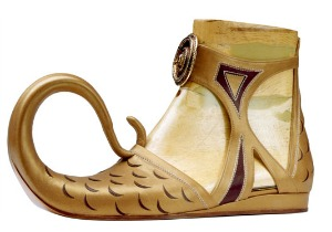 Florence Museums - the Ferragamo Museum - Arabic style shoe