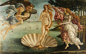 Uffizi Gallery Florence - Botticelli Birth of Venus