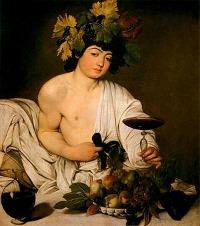 Uffizi Gallery Florence - Caravaggio Bacchus