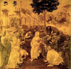 Uffizi Gallery Florence - Leonardo the Adoration of the Magi