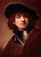 Uffizi Gallery Florence - Rembrandt Self-Portrait