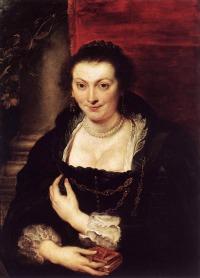 Uffizi Gallery Florence - Rubens Isabella Brandt portrait