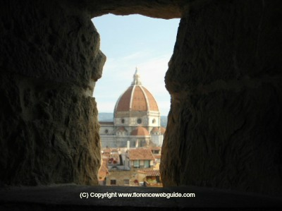 Dome of Florence seen from the Battlements of Palazzo Vecchio