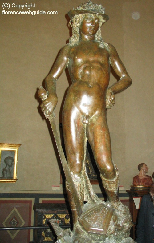 Statue of David by Donatello